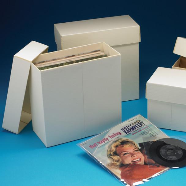 Bully Box Phonograph Record Storage Boxes & Env.