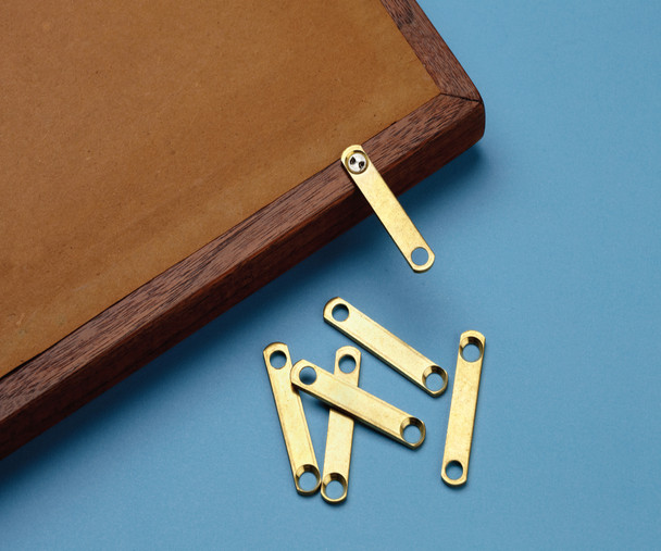 Benchmark® Brass Security Straps