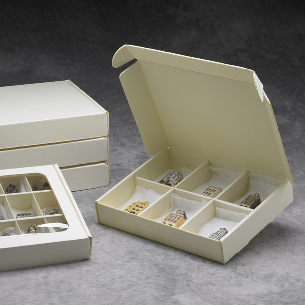 Clamshell Artifact Container System