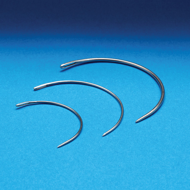 Curved Bookbinder's Needles