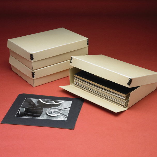 Clamshell Short Lid Drop Front Box