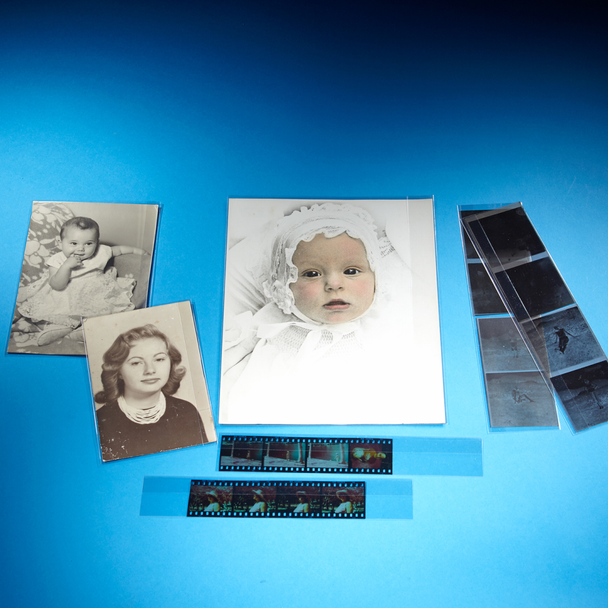 Fold and Lock Polyester Photo/Negative Sleeves
