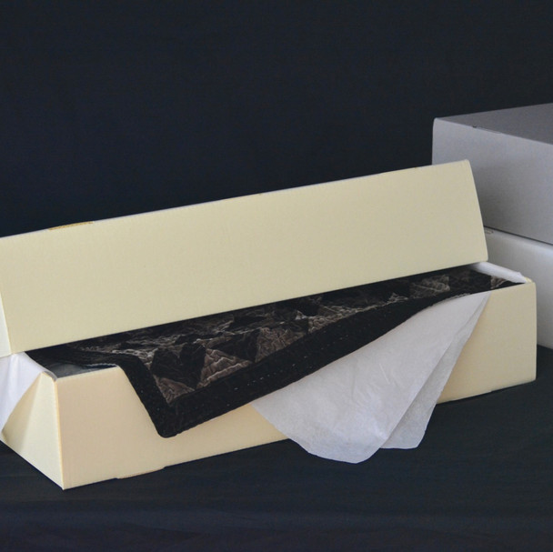 Full Lid Corrugated Textile Storage Box