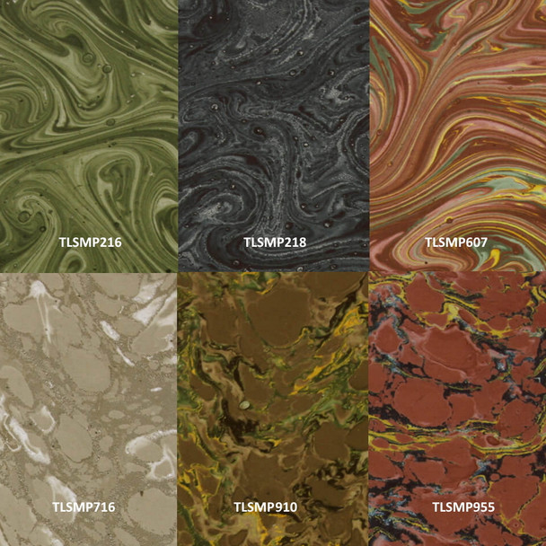 French Marbled Papers