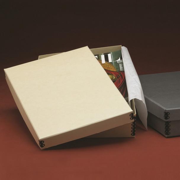Short Lid Flat Storage Boxes