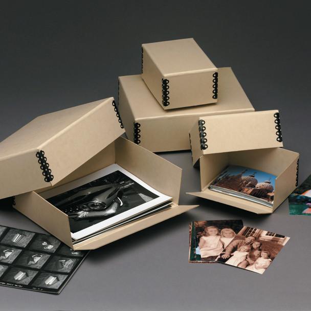 Flat Storage, Drop Front Print & Negative Boxes