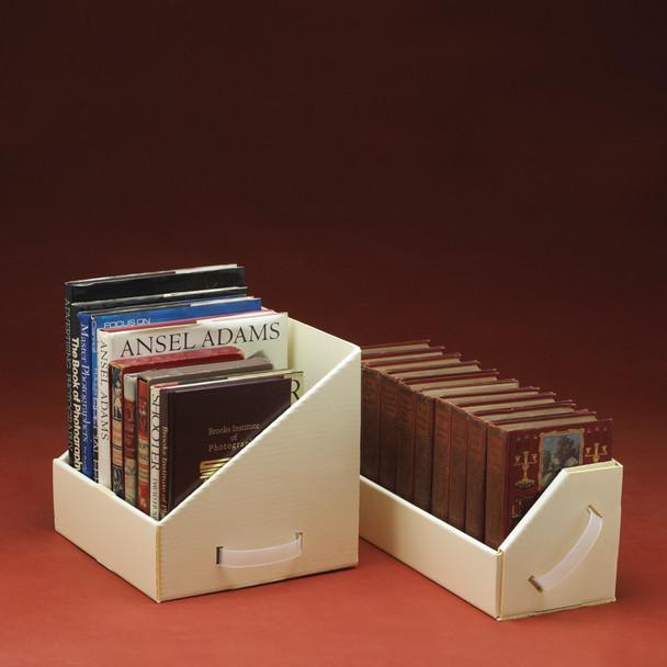 High Density Book Tote/Shelf Box