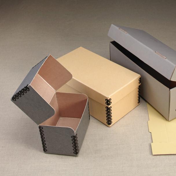 Intercept Microfiche Boxes