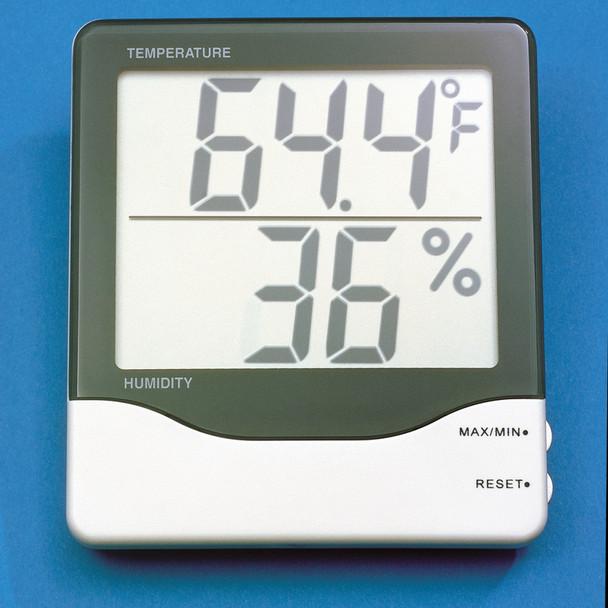 Jumbo Display Humidity & Temperature Meter