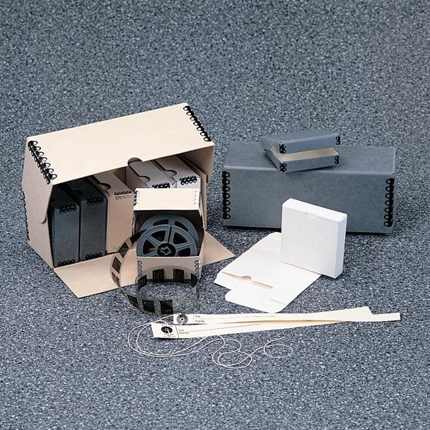 Microfilm Individual Hinged Lid Storage Boxes