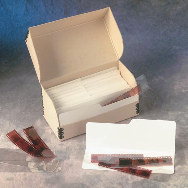 Negative Strip File Storage System