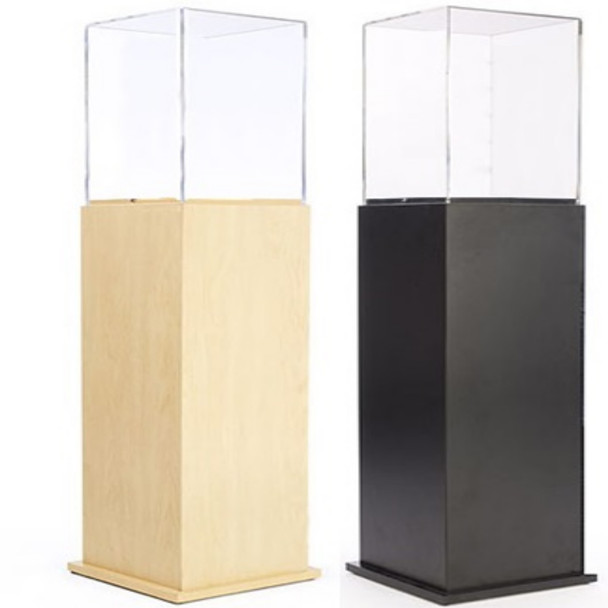 Pedestal Display Case with Acrylic Top