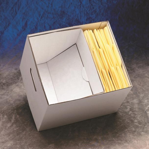 Record Storage Box Folder Supports