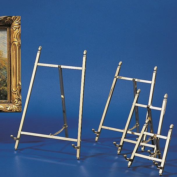 Solid Brass Easel