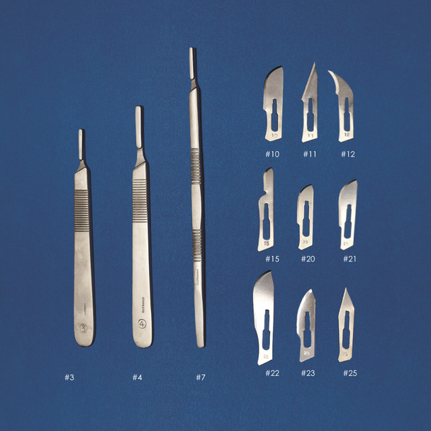Scalpel Handles and Blades