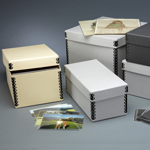 Short Lid Negative & Print Storage Boxes