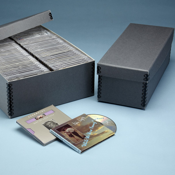 Space Saving CD/DVD Box
