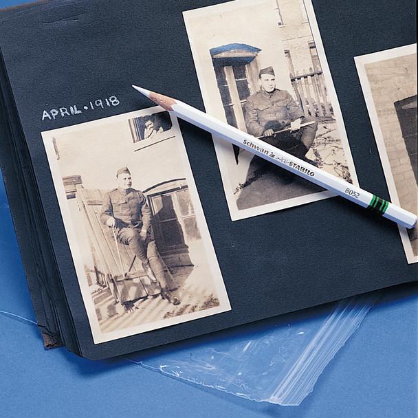 White Photo Marking Pencils