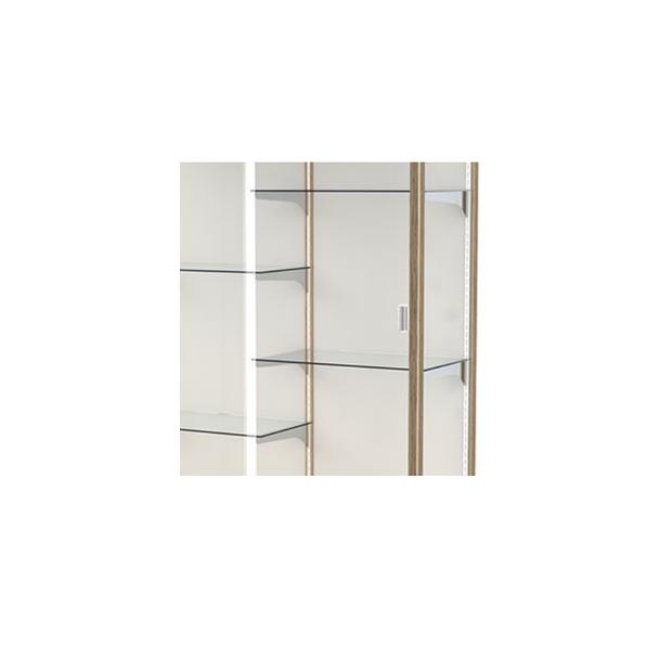 Heritage Floor Model Glass Shelving