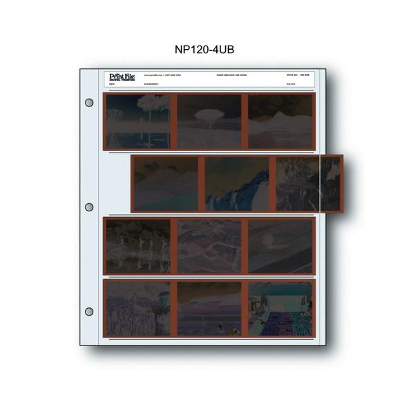 Print File 120MM Negative Preservers