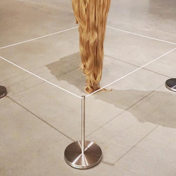 Q-Cord™ Art Stanchion