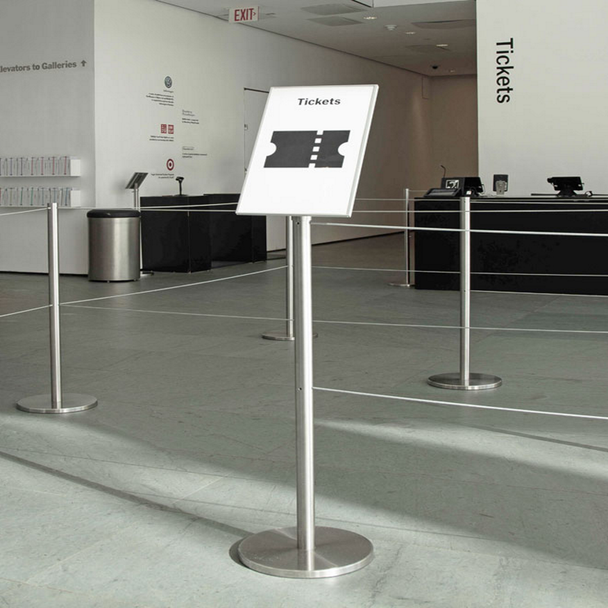 Q-Cord™ Barrier Signage Plates