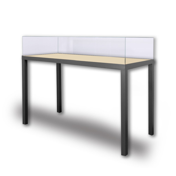 Archival 4-Leg Table Case with Lift-Off Vitrine