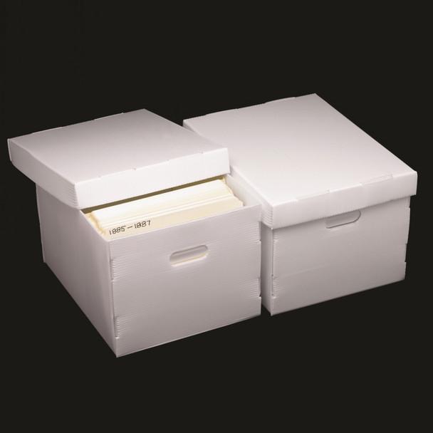 Polypropylene Record Storage Box