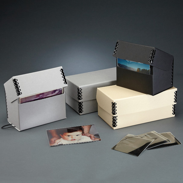Flip Top Negative and Print Boxes
