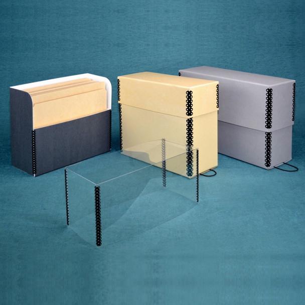 Separate Lid Document Storage Case