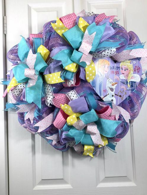 Valentine wreath, Custom wreath, handmade wreath, heart wreath