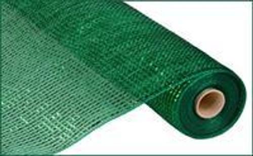 """Emerald Foil Mesh - 21"""""""