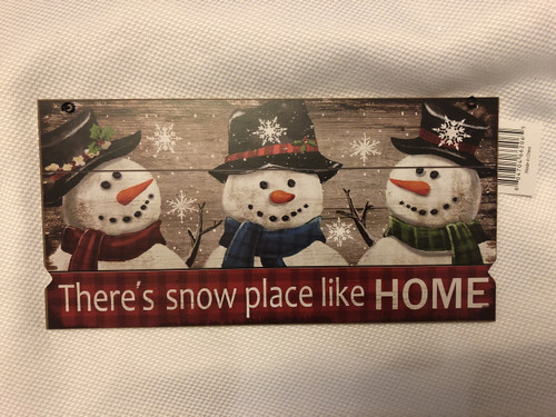 Snowmen Sign