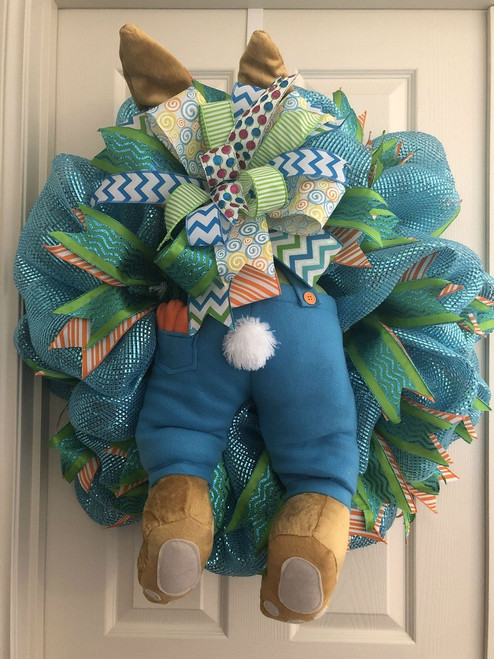 Boy Bunny Butt-Blue