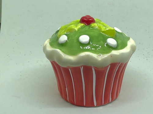 CHRISTMAS CUPCAKE S&P SET