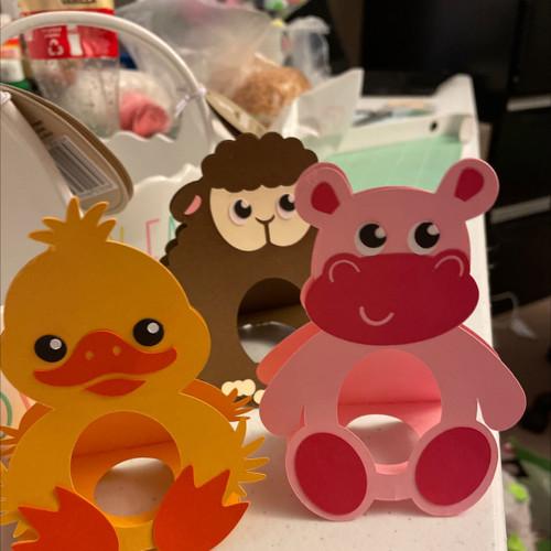Easter egg holders-various animals