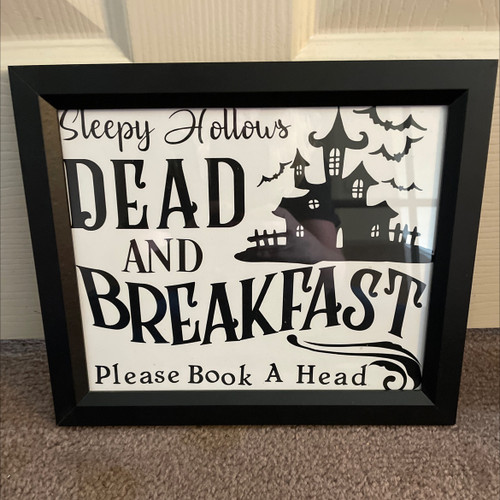 SLEEPY HOLLOWS-BLACK FRAME