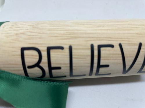 Believe green ribbon