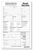 Road Service(Towing) Work Order/Invoice