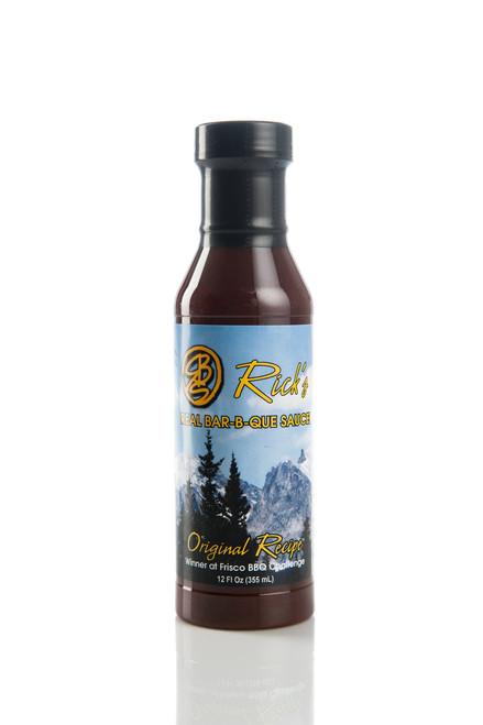 Rick's Original Recipe is all natural - gluten free 12oz (355 ml)