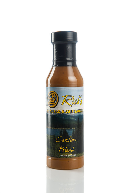 Carolina Blend - Mustard and Vinegar based BBQ Sauce you might find in the South with just the right amount of spice to go with Pork, Chicken and all types of seafood.