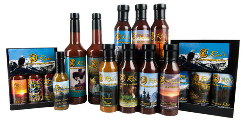 All Natural - Gluten Free BBQ Sauces, Hot Sauces and Bloody Mary Mixes
