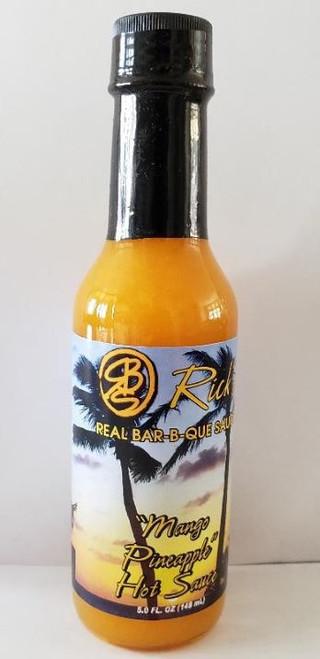 Mango-Pineapple Hot Sauce