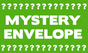 MYSTERY ENVELOPE - 15 ASSORTED CLEANING/HOUSEHOLD COUPONS