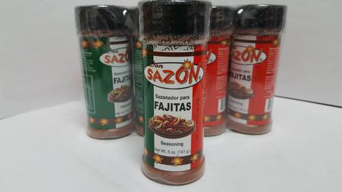 Don Sazon Fajita Seasoning 5oz Bottle