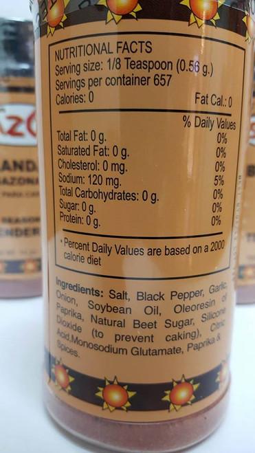 Don Sazon Meat Tenderizer Seasoning 14oz Dozen