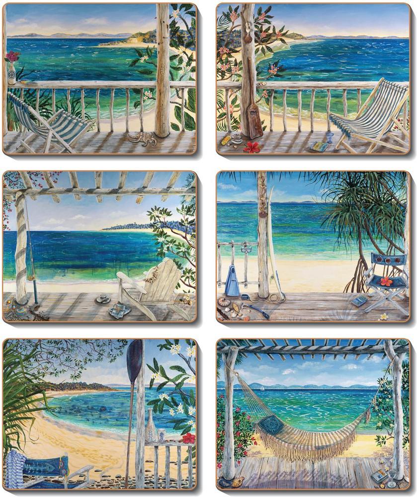 Beach Balconies Coasters