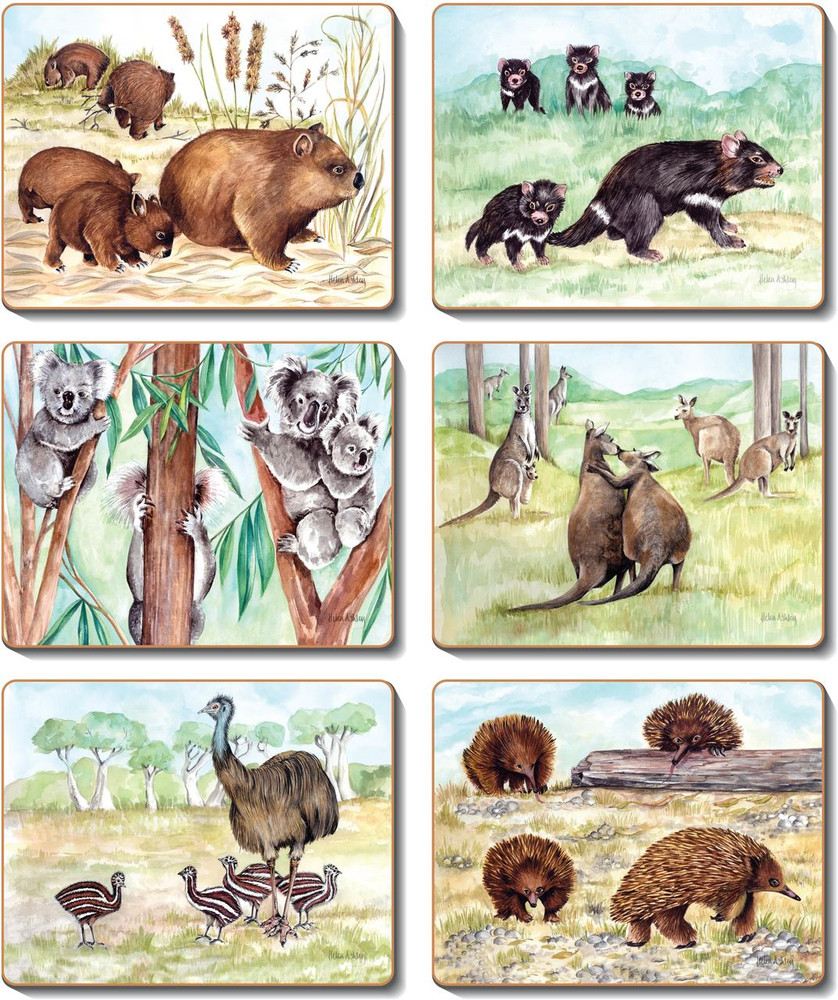 Animal Families Coasters