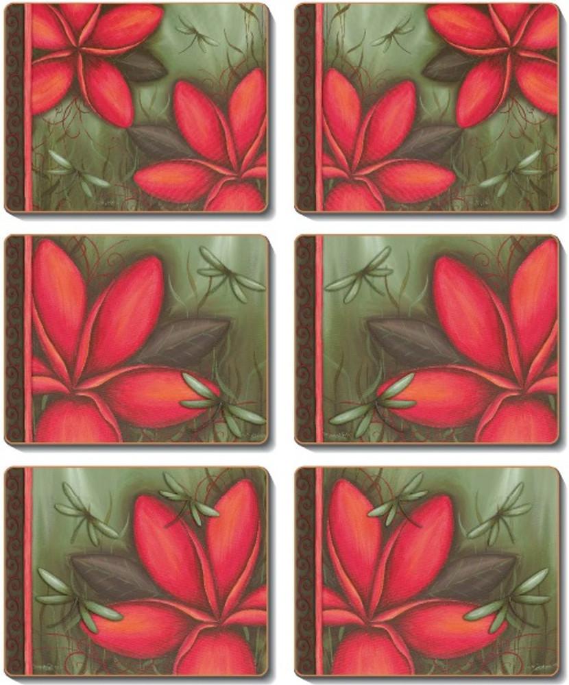Frangipani Dream Coasters