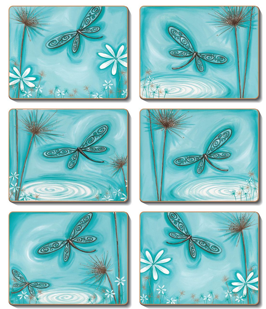 Blue Dragonfly Placemats
